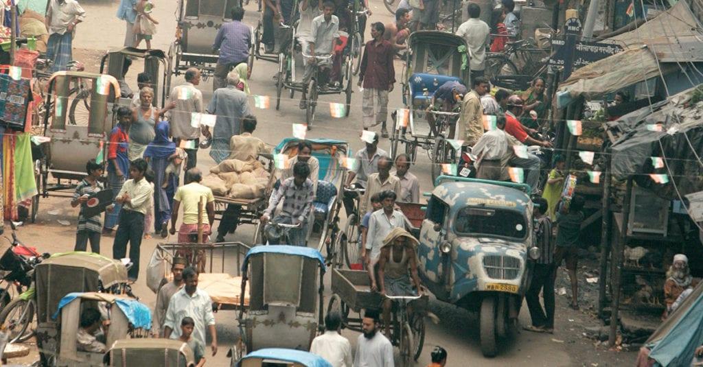 Das nennt man in Indien Verkehr