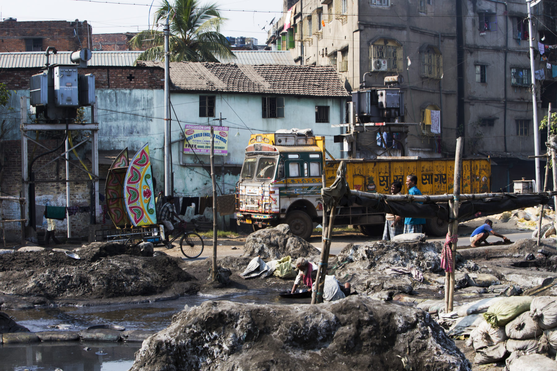 Slums in Indien