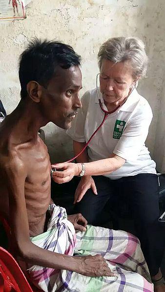Untersuchung Patient