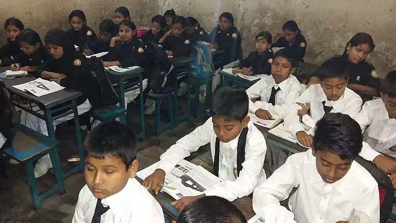 Slumschule in Dhaka