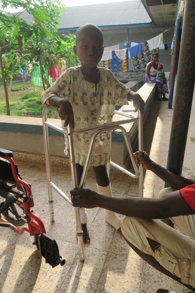 Hilfe für Kinder in Sierra Leone