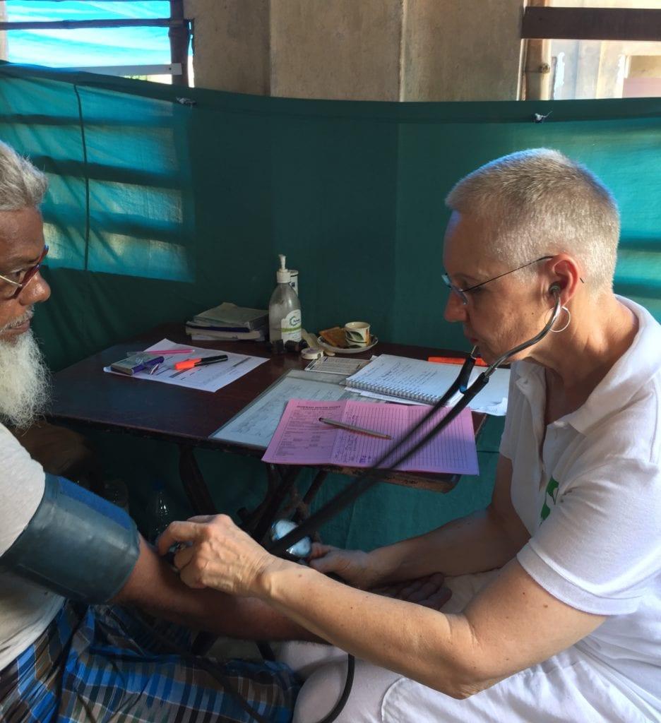 Medizinische Nothilfe in Indien