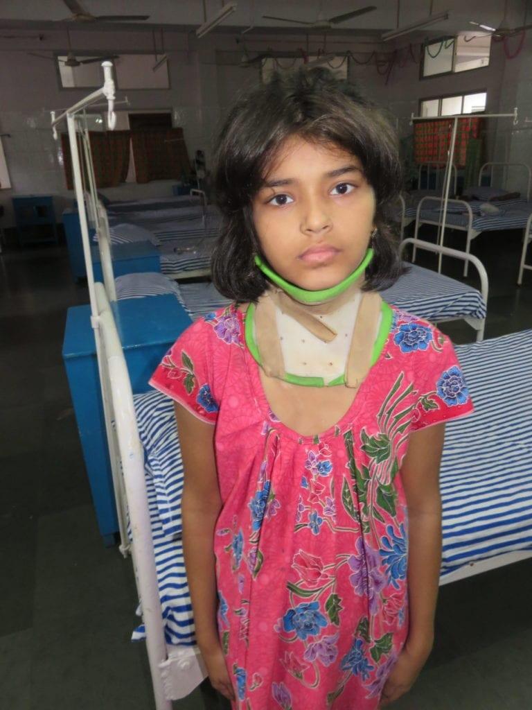 Lungen-Tbc in Kalkutta