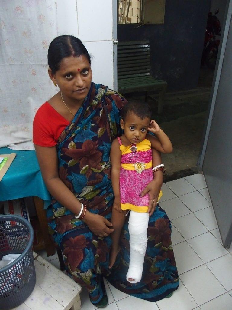 Ärztliche Hilfe in Bangladesch