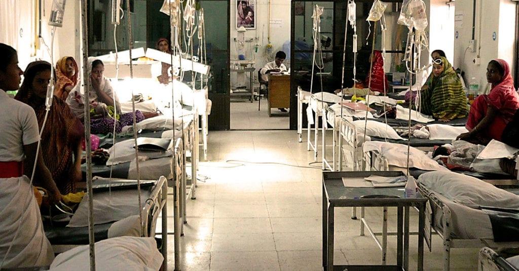 Medizinische Hilfe in Chittagong