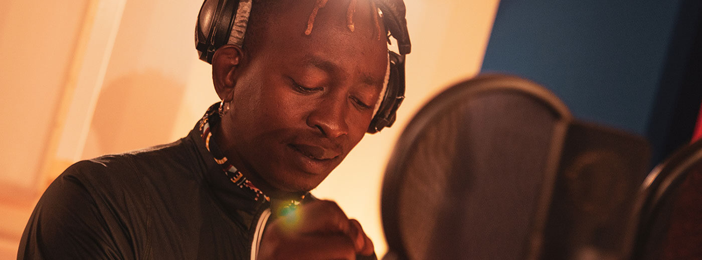 Eric Wainaina supports German Doctors