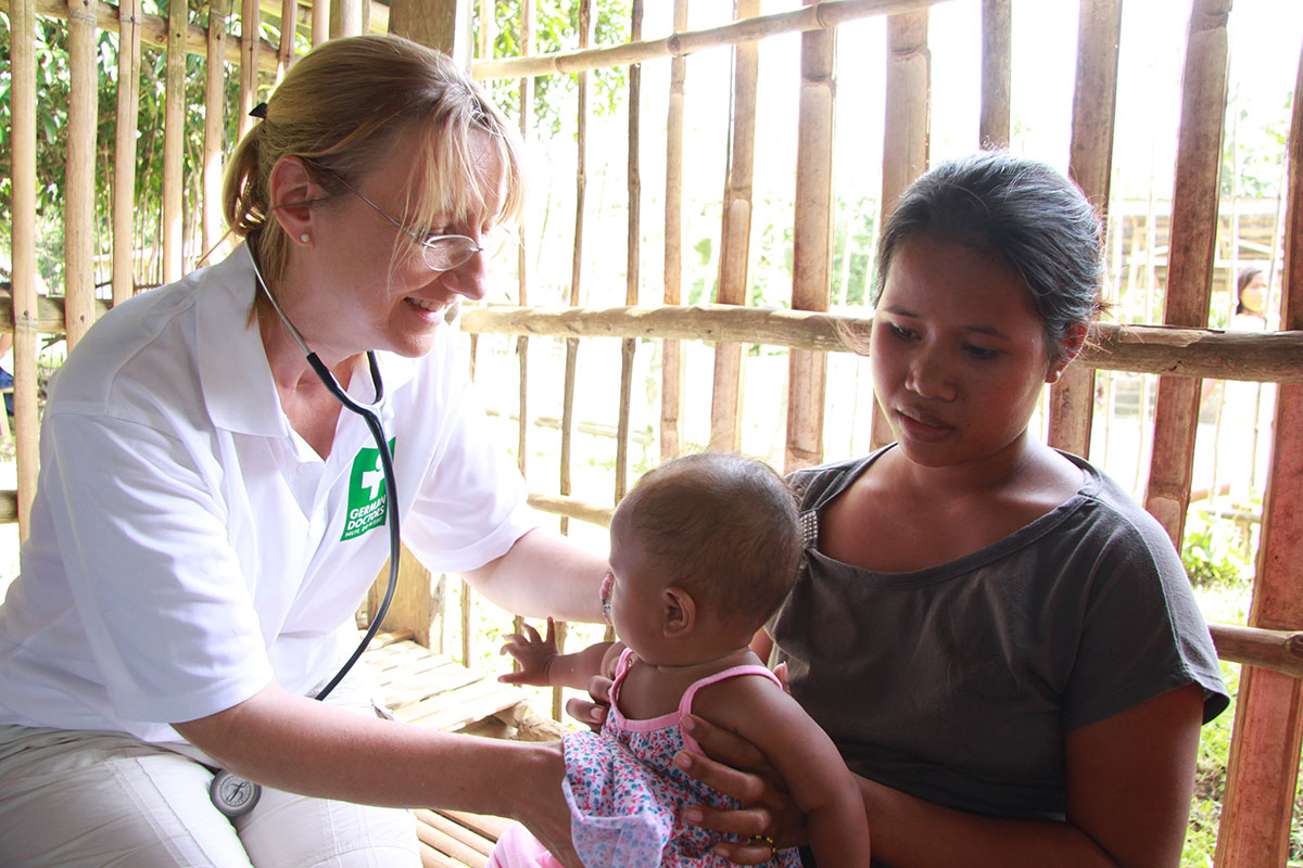 Mindanao: help for the Philippines | German Doctors e V